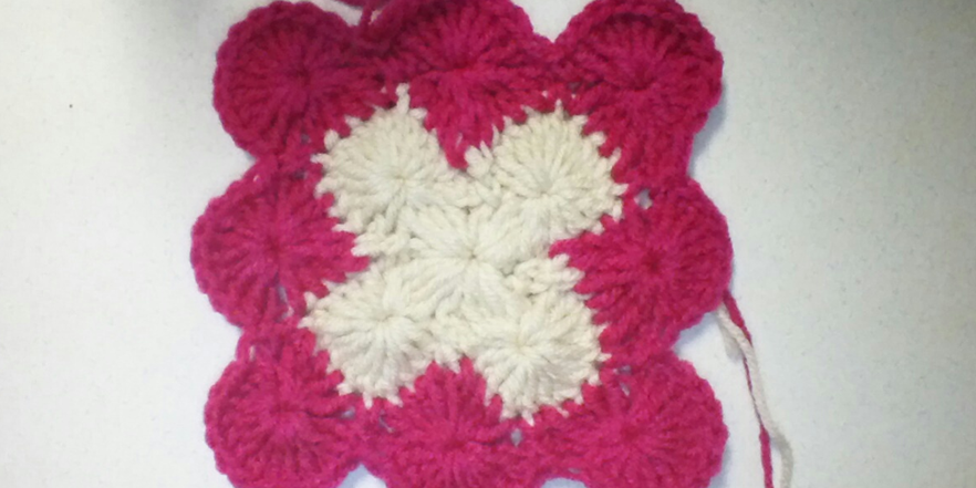 How To Crochet The Catherine Wheel Square Pattern